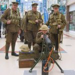 Re-enactors at History Event
