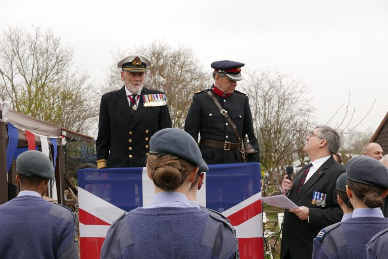 Admiral Roberts & DL Paul Auston