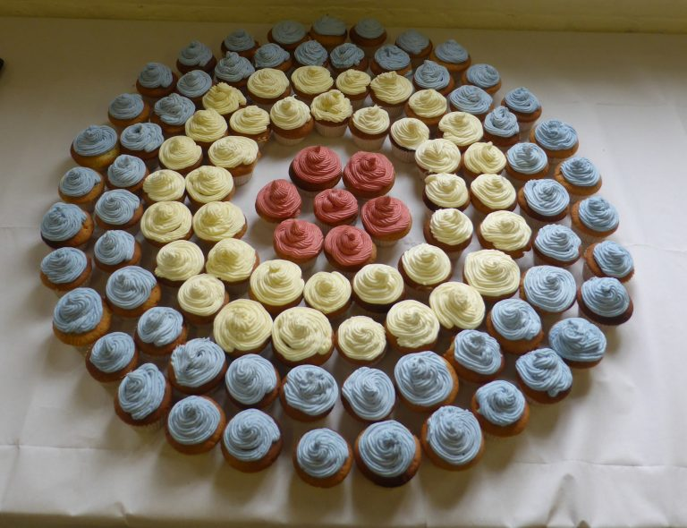 RAF Roundal Cup Cakes