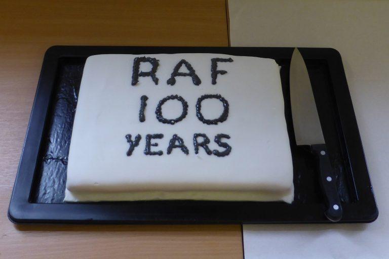 RAF 100 Birthday Cake