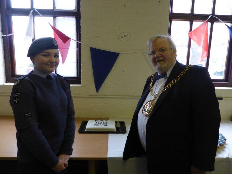 ATC Cadet & Mayor of Swale