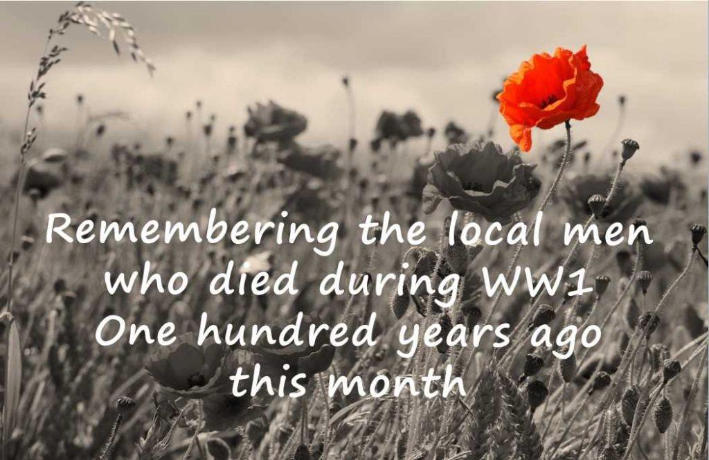 Remembering the WW1 fallen